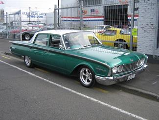 Ford Fairlane Moorhouse Muscle Cars Christchurch New
