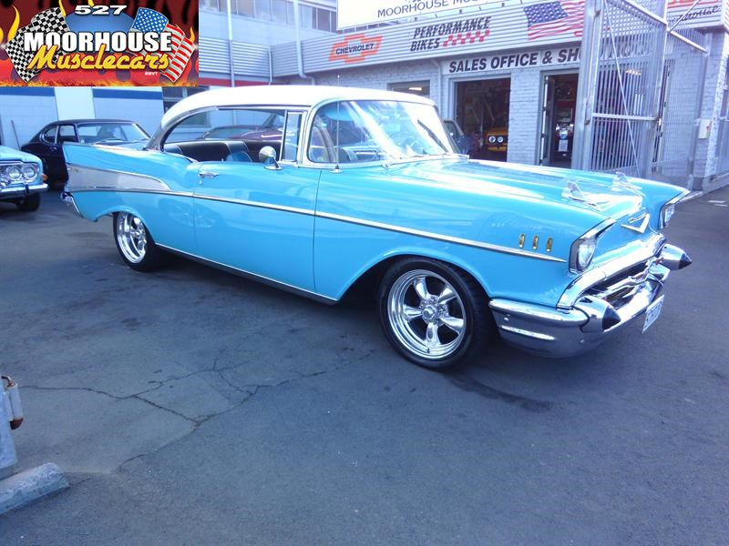 Chevrolet Bel Air Sports Coupe Moorhouse Muscle Cars