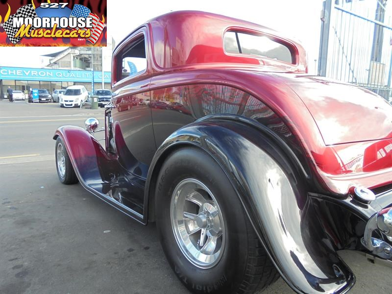 1932 Ford 32 3 Window Coupe Moorhouse Muscle Cars