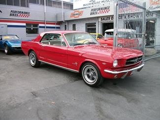 Auto Matic Racing Tran on 1964 Ford Mustang  Moorhouse Muscle Cars   Christchurch   New Zealand