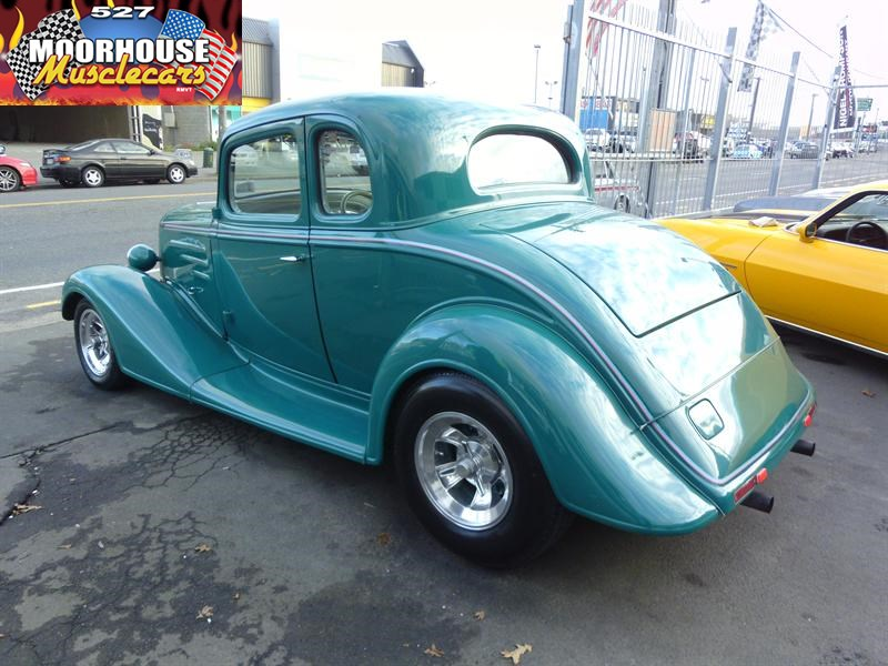 1934 Chevrolet MASTER 5 WINDOW COUPE| Moorhouse Muscle Cars