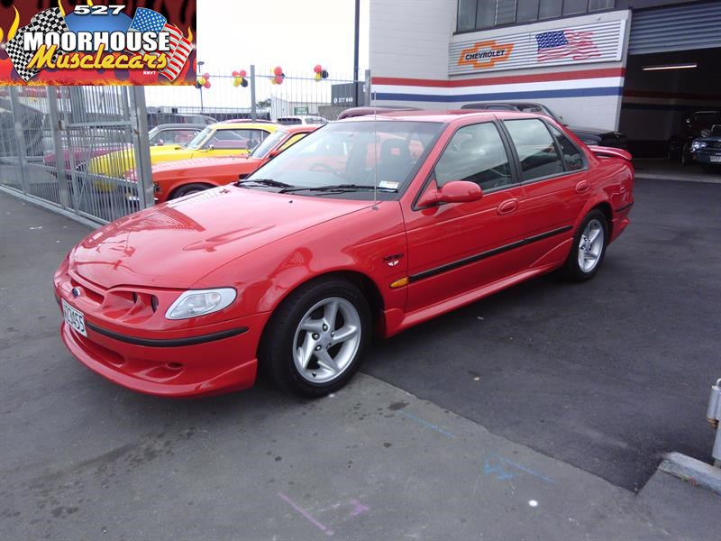 What Is Transmission >> 1998 FORD FALCON EL XR6 TICKFORD| Moorhouse Muscle Cars ...